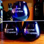 bicchierie per assaggiare l'olio